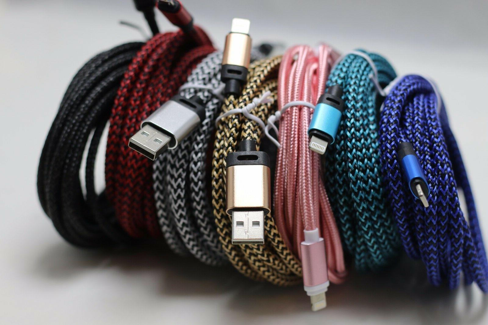 10 feet extra long Heavy Duty USB data Cable Charger cord Fo