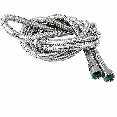 100-Inch Shower Hose Stainless Head