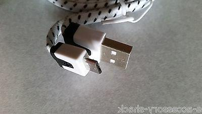 10FT Braided Micro USB Charger Fast Extra Long Cord