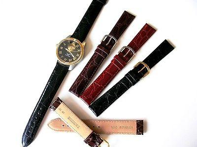 16 17 19 Alligator Extra Long Brown band IW
