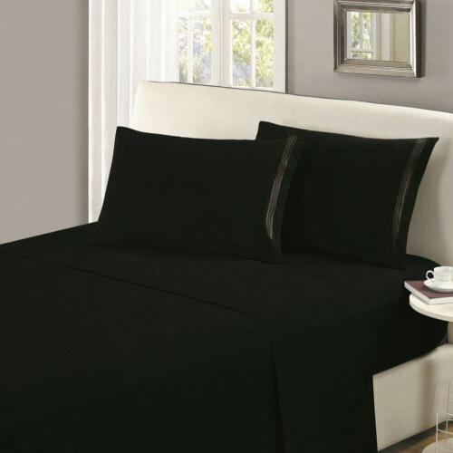 Mellanni Flat Sheet Fade, Stain Resistant