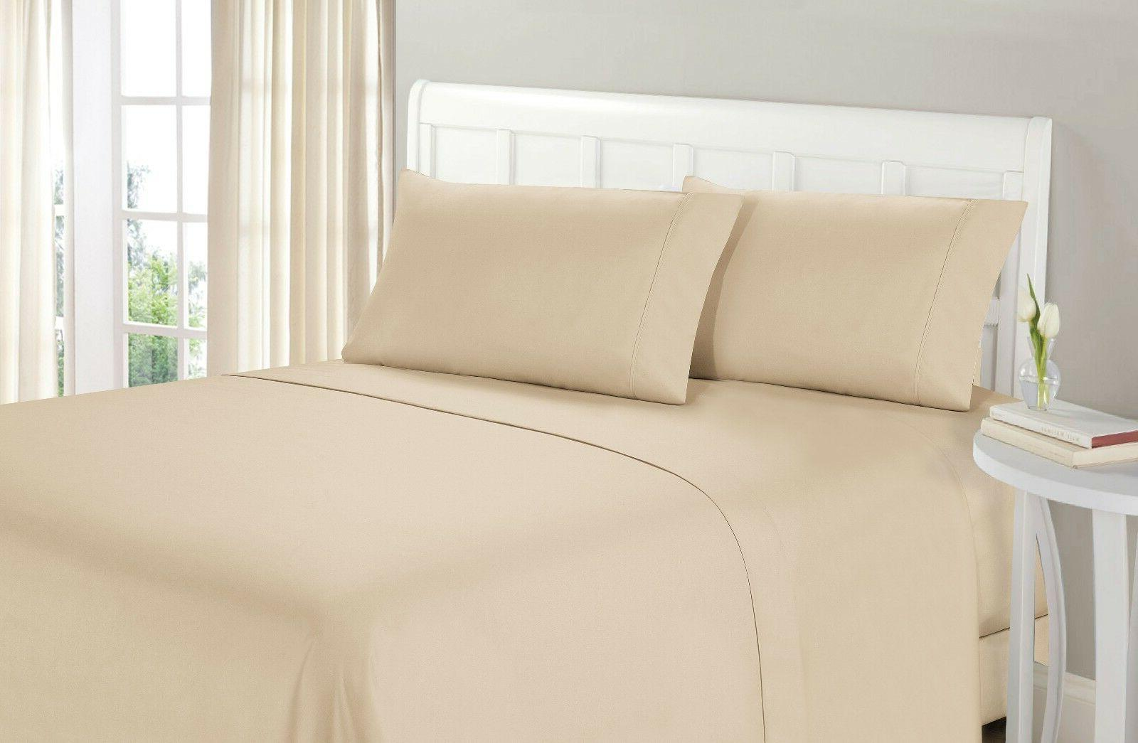 1800 4 PIECE BED SHEET BEST SHEETS GUARANTEED!