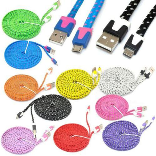 1pc extra long micro usb charger sync