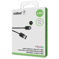 Belkin 2.0 USB-A to USB-C Charge Cable - USB for MacBook, Ha