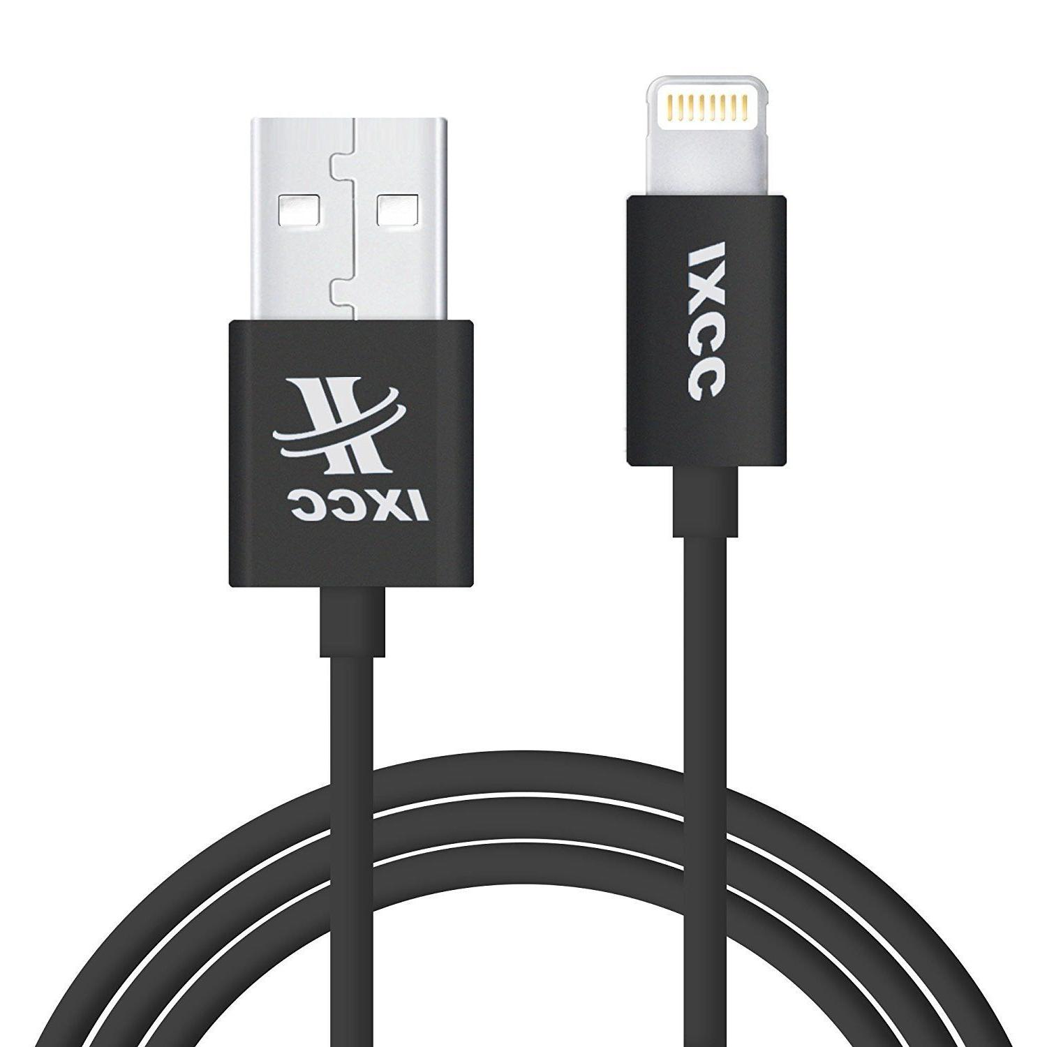 2 Pcs - iXCC Element II Lightning Cable 3ft, iPhone charger,