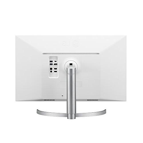 LG 27UK850-W UHD HDR10 with USB Connectivity and
