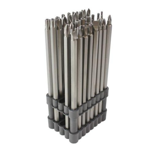 32pc extra long security bit set tamper