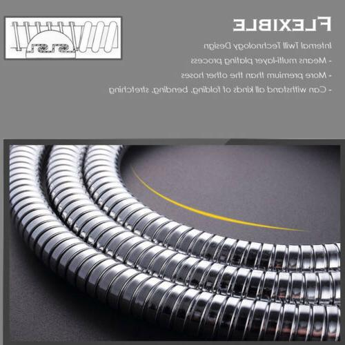 10FT Shower Tub Hose Extra Long 3M Stainless Steel Handheld