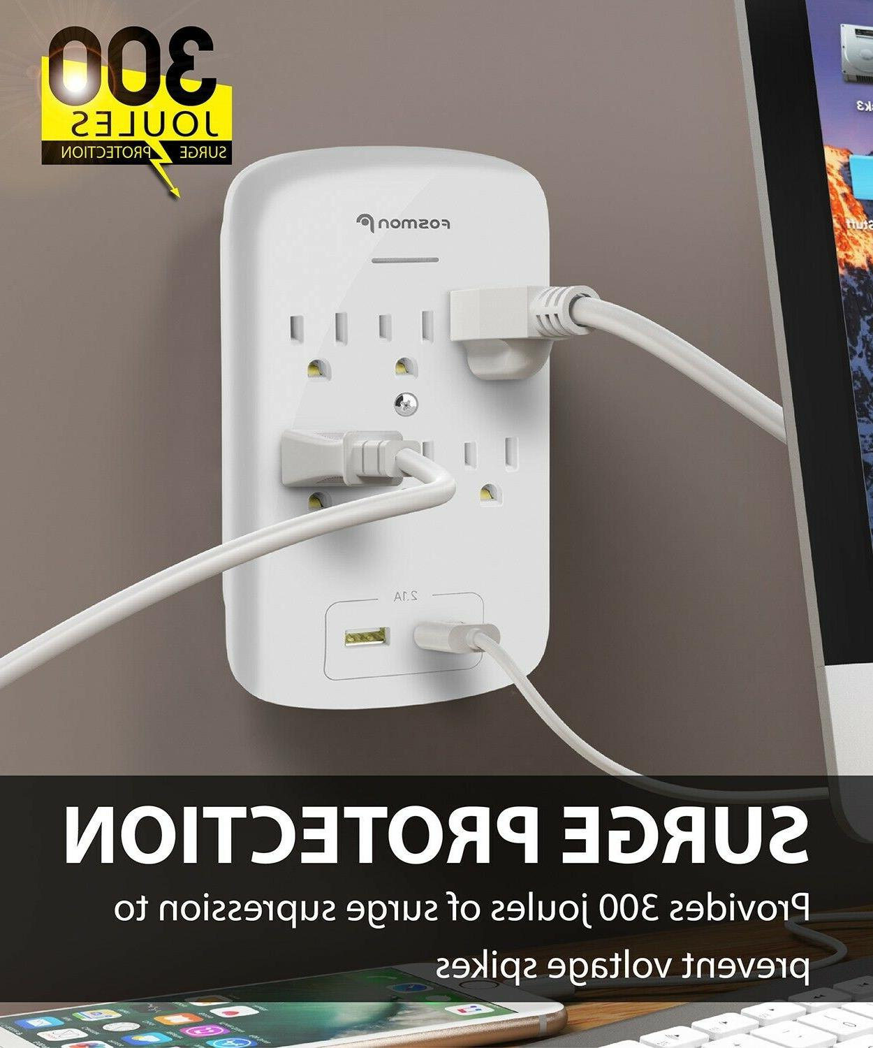 6 Outlet With Wall Adapter Tap