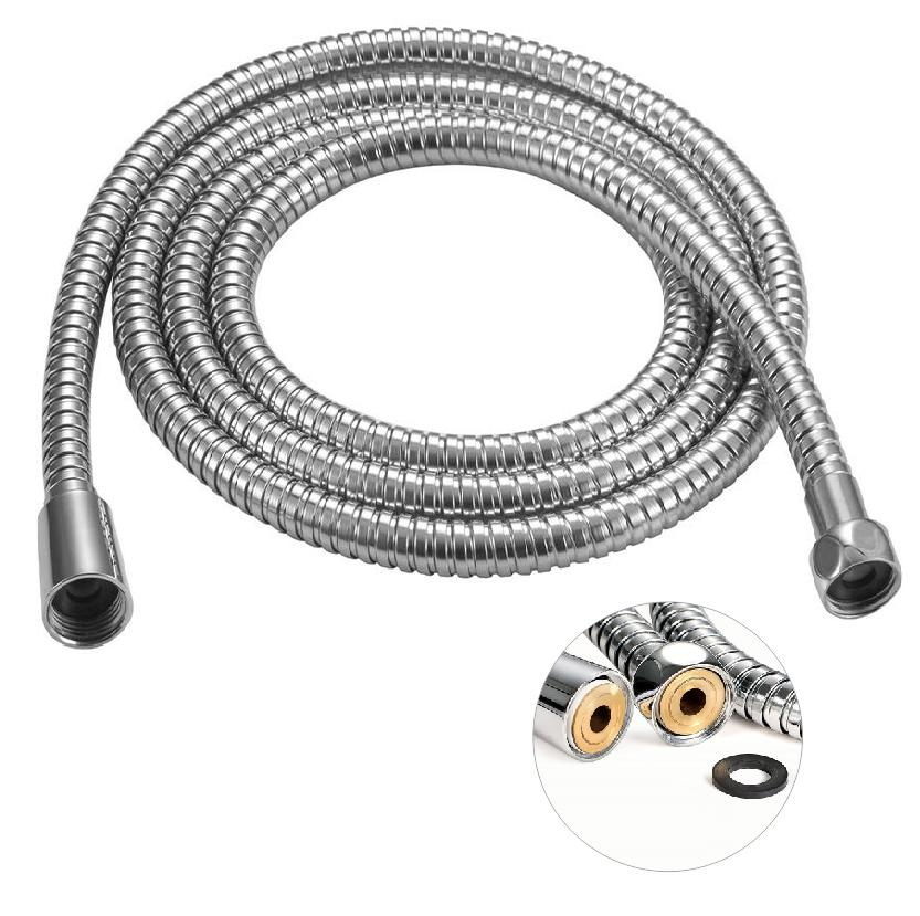 96 Inch Ultra Extra Long Handheld Shower Hose Stainless Stee