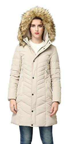 Orolay Down Jacket Beige M