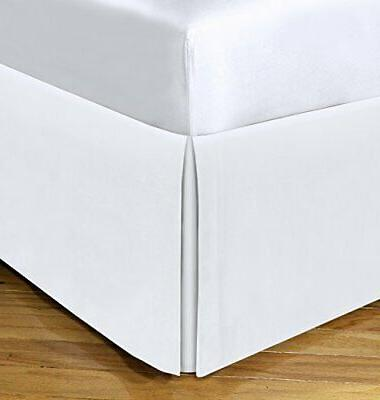 Spacemaker Polyester Bed Skirt – Extra Long Bedskirt Hides