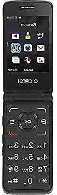 Tracfone Alcatel MyFlip 4G Prepaid Easy-to-Use Cell Phone fo
