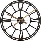 Analog Round Wall Clock 22 Inch Large Big Modern Living Room