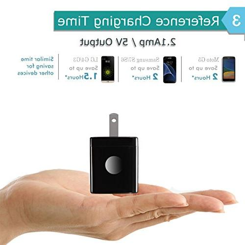 Android Charger, USB Cable with Wall Charger Plug Charging Block Compatible S7/S6 5/J7, G4 Moto, Tablets