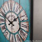 Extra Large Antique French Vintage Style Wall Clock Shabby C