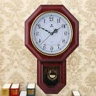 Antique Vintage Wooden Retro Style Vintage Wood Wall Clock w