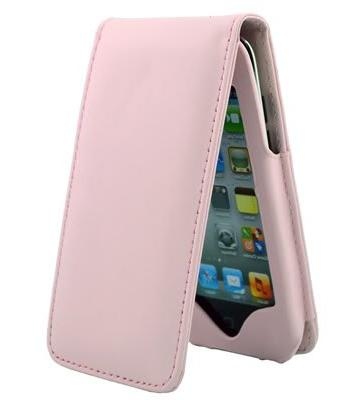 apple ipod touch pink leather