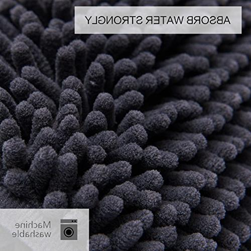 DEARTOWN for Mats,Extra Soft, TPR Bottom,Machine-Washable, Tub,