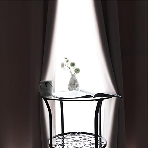 MANGATA Bedroom Blackout Curtains Grommets Panels,Thermal Window Drapes for Living Room Darking