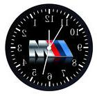 "Extra Large 14"" BMW M Model Wall Clock Home Office Decor Nic"