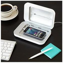 PhoneSoap Charger White - Phone UV Sanitizer Universal Charg