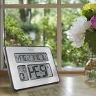 Digital Clock, Atomic Full Calendar, Extra Large Digits, Per