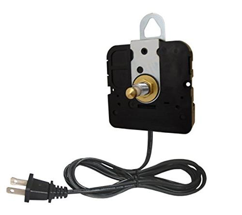 compact electric clock movement