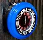 Retro Diner Wall Clock Vintage Style Advertising Electric Bl