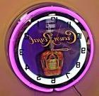"Crown Royal 19"" Double Ring Neon Clock"