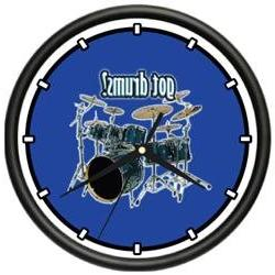 DRUMS ~Wall Clock~ new drum drummer band music gift