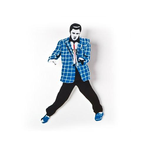 elvis swing rocker pendulum clock