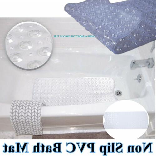 Extra Long Bath Mat Non Skid Shower Bathtub