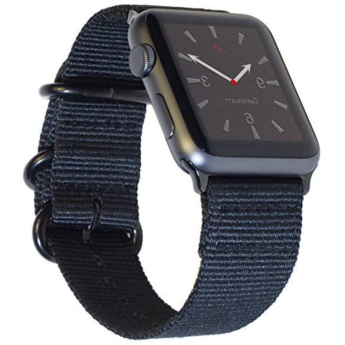 extra large nylon nato compatible apple watch