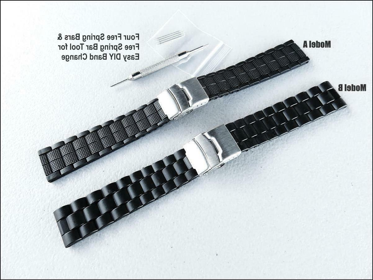 Extra Long 20mm & 22mm Watch Band Big