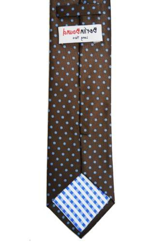 Extra and Blue Polka Men's Tie