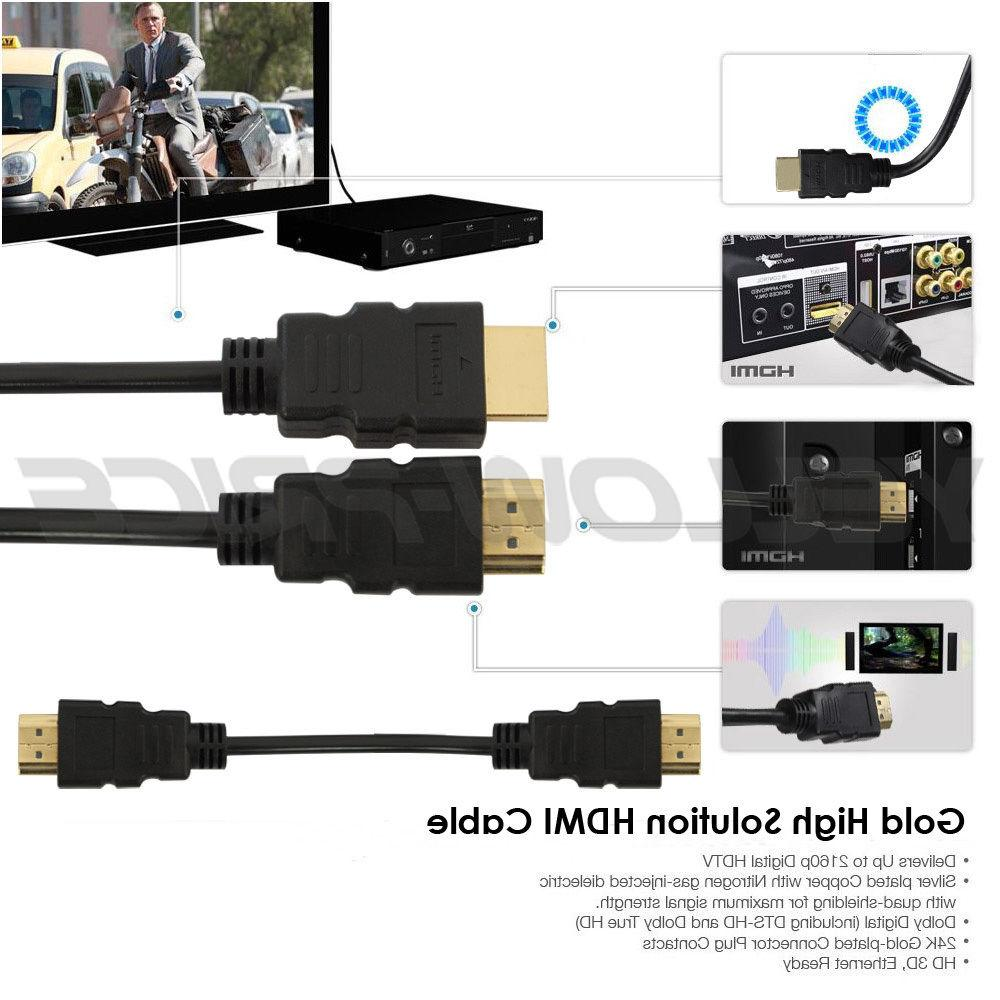 Extra HDMI Cable Gold Series, US