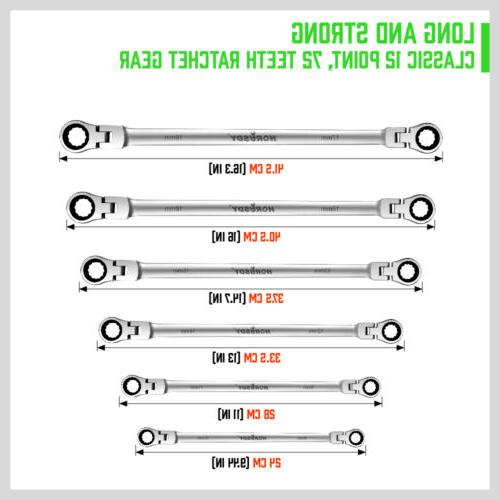 Extra Long Spanner Double Box End Metric