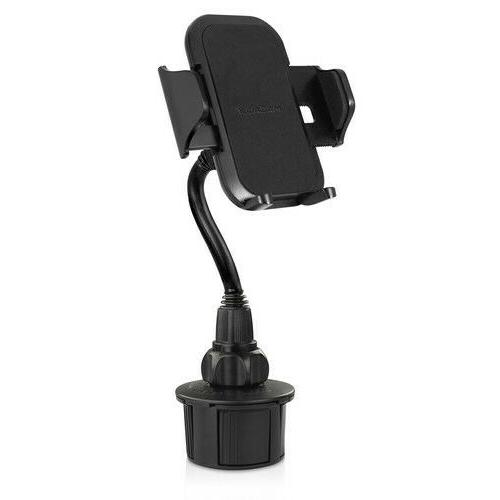 Mac extra long S9 note cup holder mount for Samsung Galaxy S