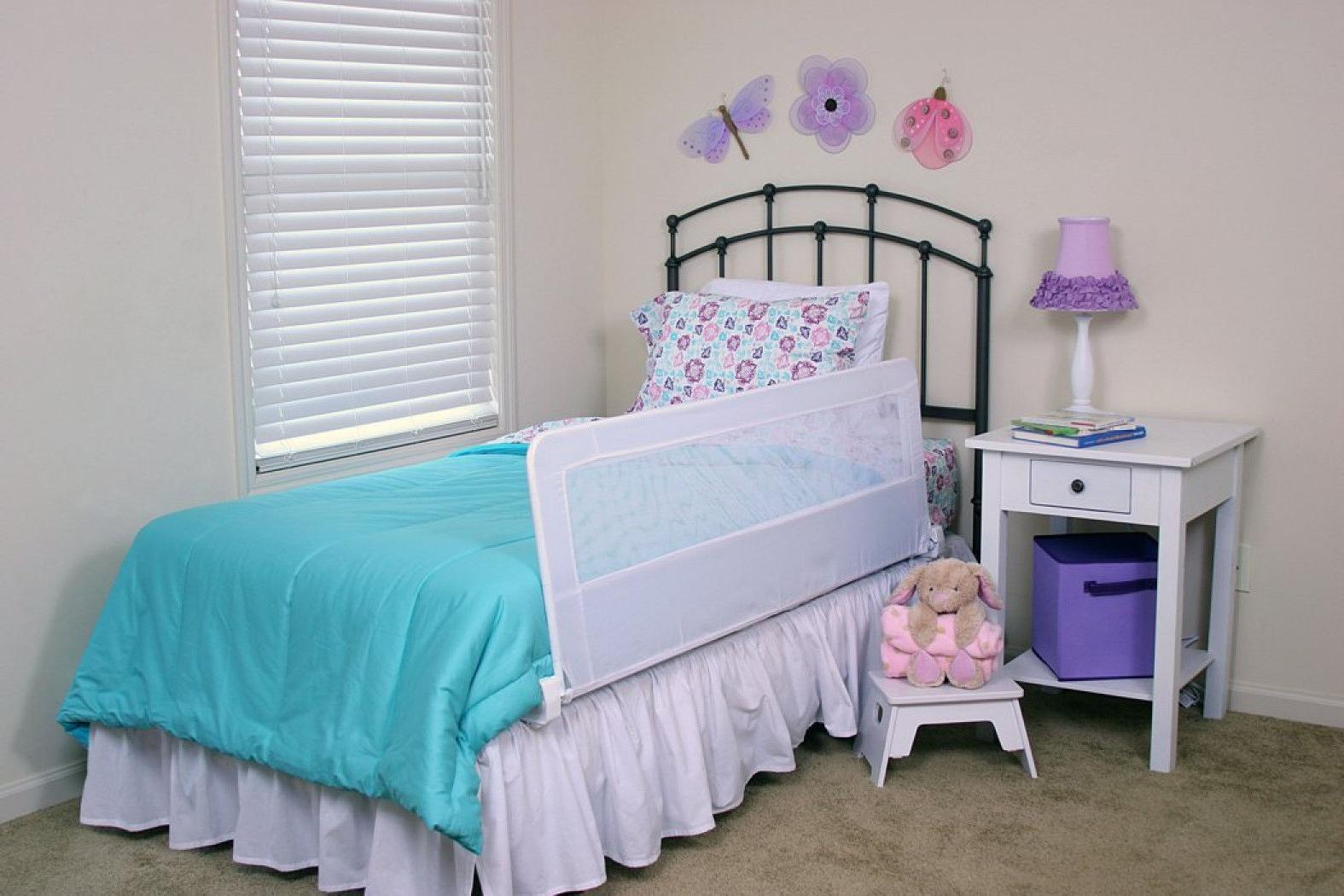 extra long safety bed rail toddler kids