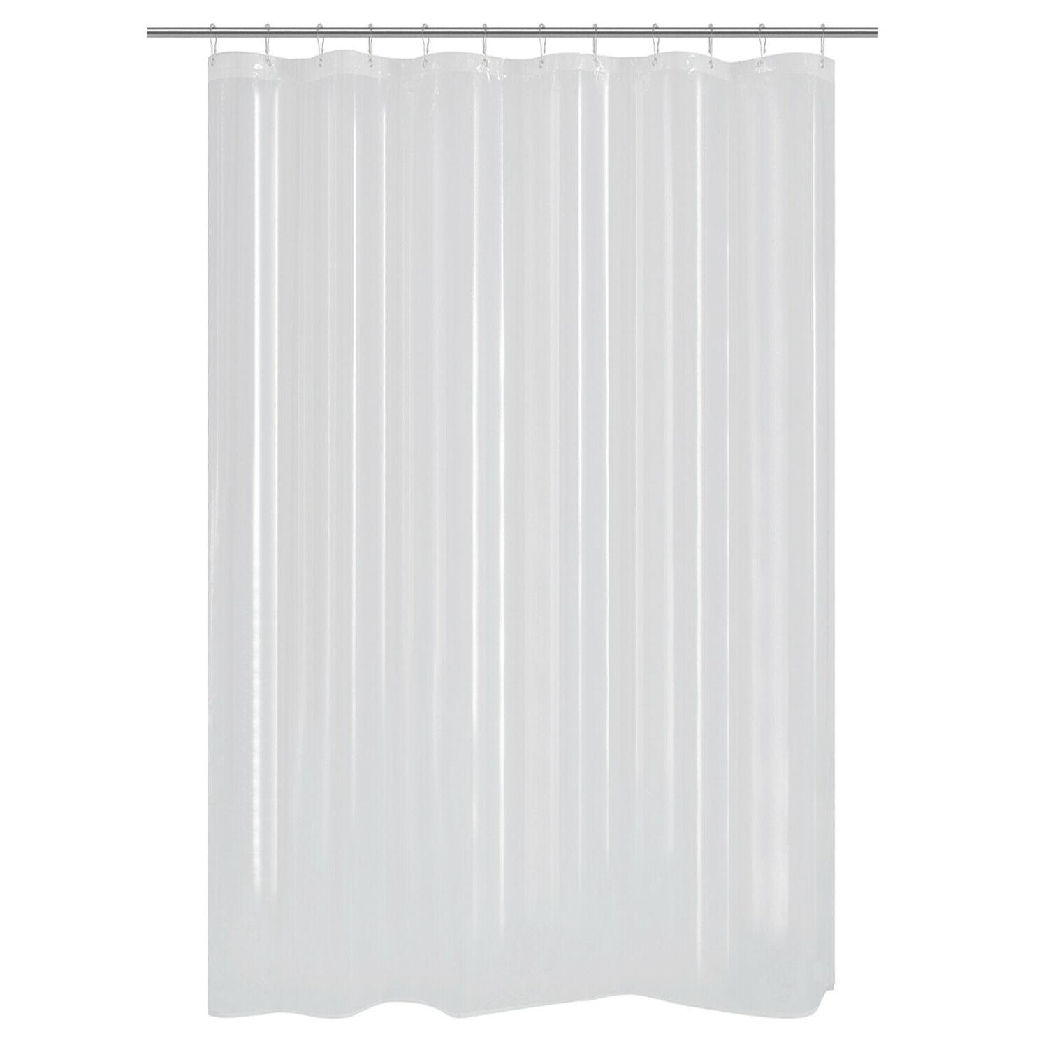 extra long shower curtain or liner peva