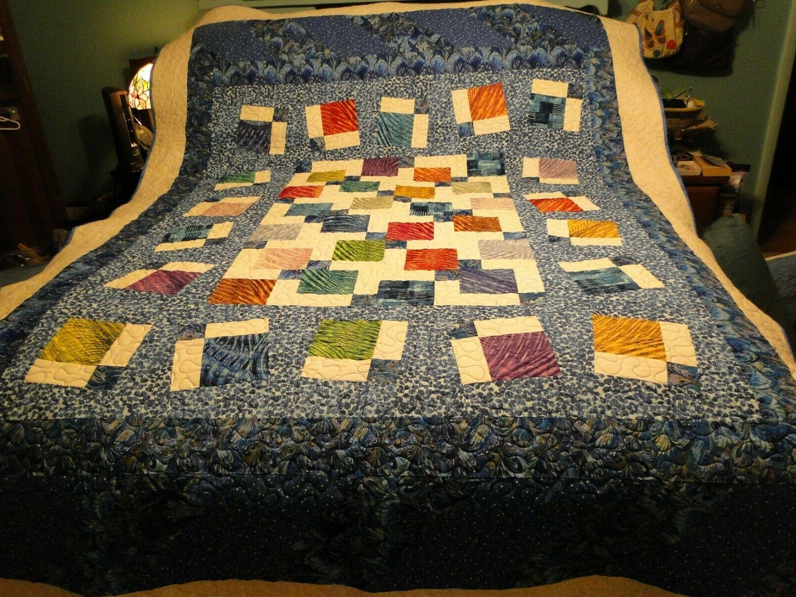 extra long twin adult youth quilt multi