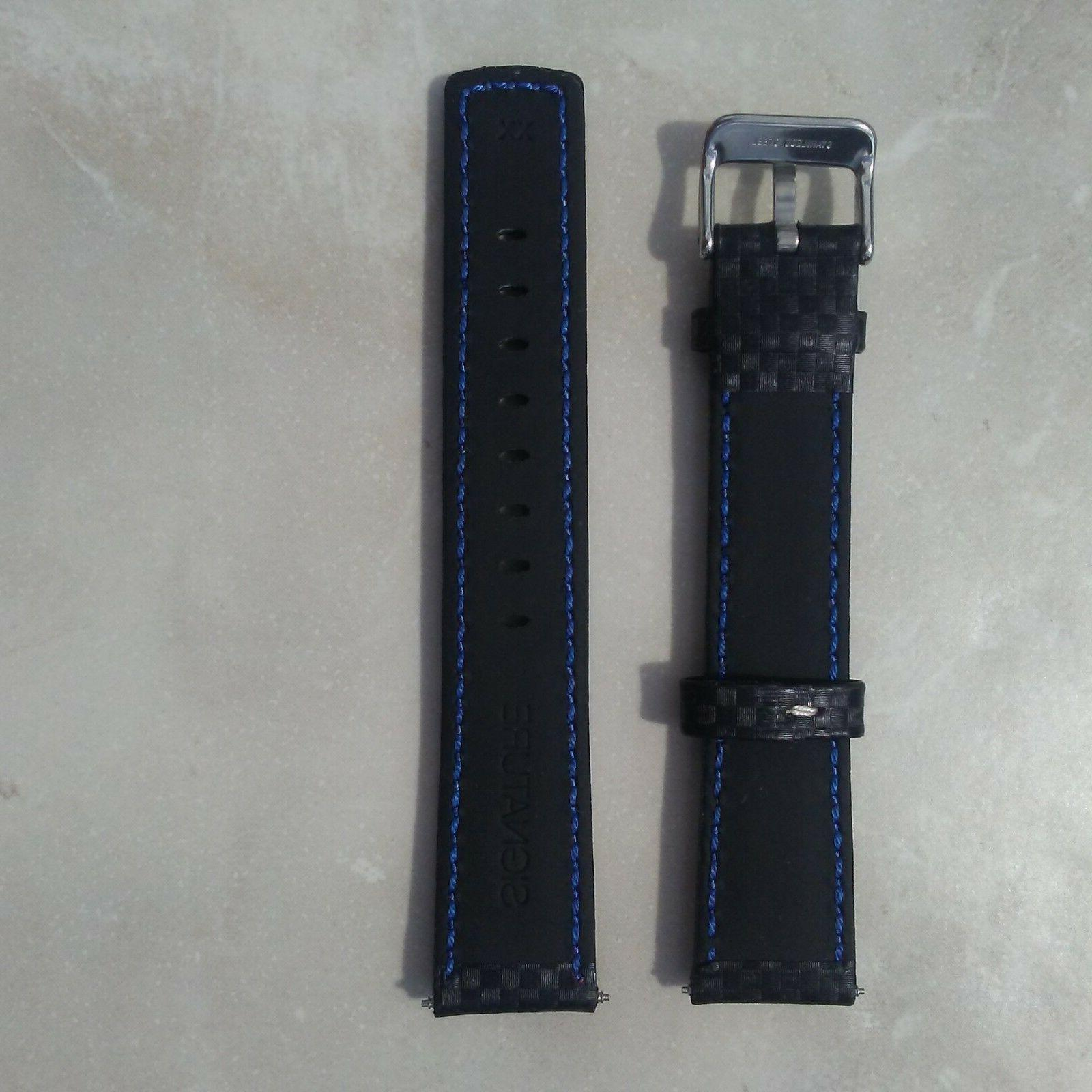 extra long FIBER LEATHER WATCH
