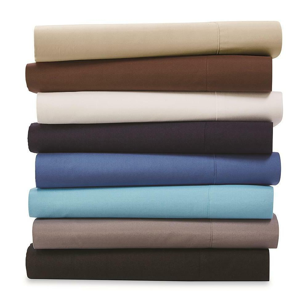 Fitted Sheet Count 200 Thread Bold Color Convenient Storage