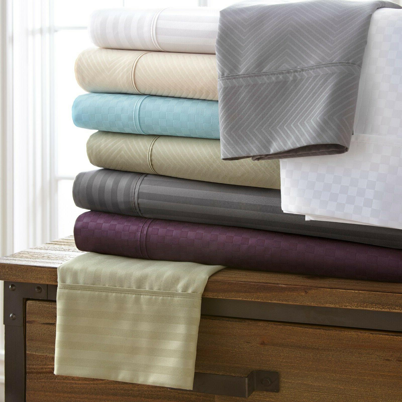hotel quality 4 piece bed sheet sets
