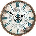 "12"" Large Indoor/Outdoor Woden Decorative Vintage Wall Clock"