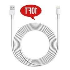 3m 10ft Iphone 5, 5s, 5c, 8 Pin USB Cable