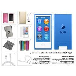 Apple iPod Nano 8th Generation 16GB Blue Extra Accessories P