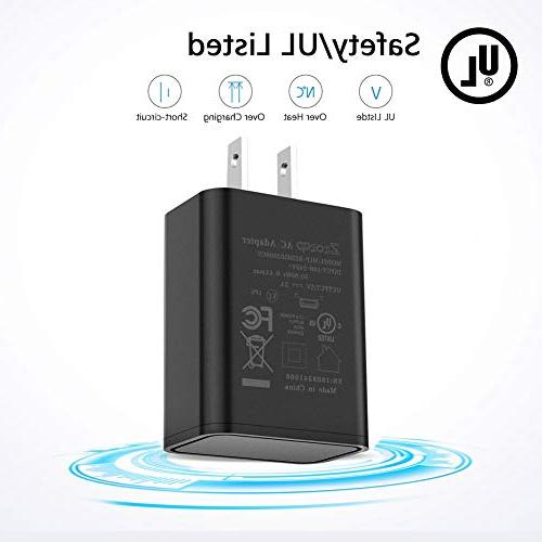 """Kindle Fast Rapid Charger with Ft for Kindle 6"""" 9.7"""", Fire Tablet and Power"""