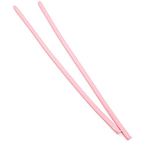 WSSROGY of Magic Thickening Latex Twisting for Weddings, Birthday Decorations Pink
